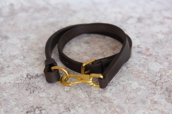 Leather utility belt