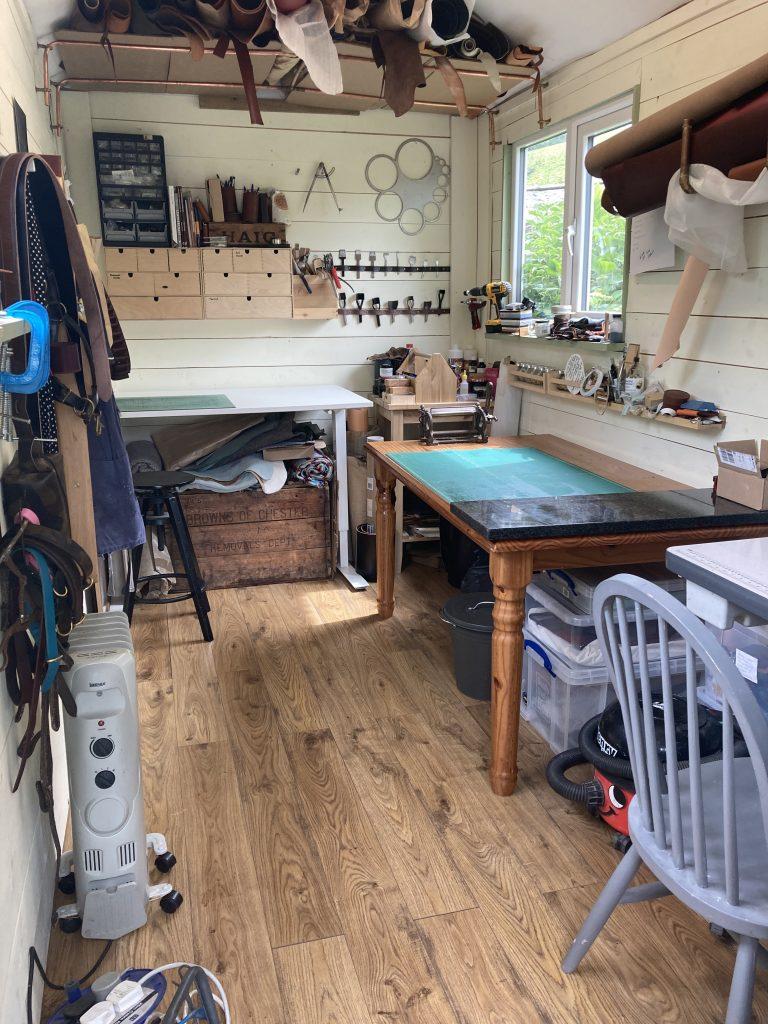 Shepherds hut workshop